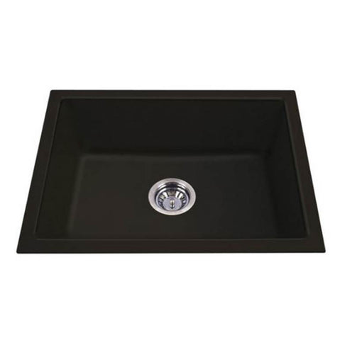 Carysil Big Bowl Granite Kitchen Sink - Under Mount Single Bowl - Domaco