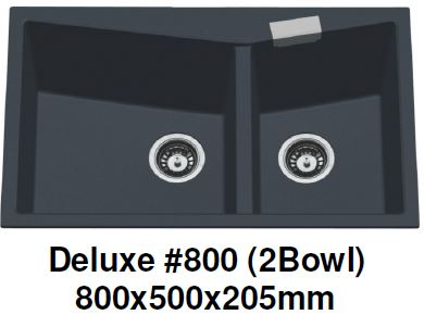 CARYSIL Deluxe #800 Granite Kitchen Sink (30800) *Contact us for best price - Domaco