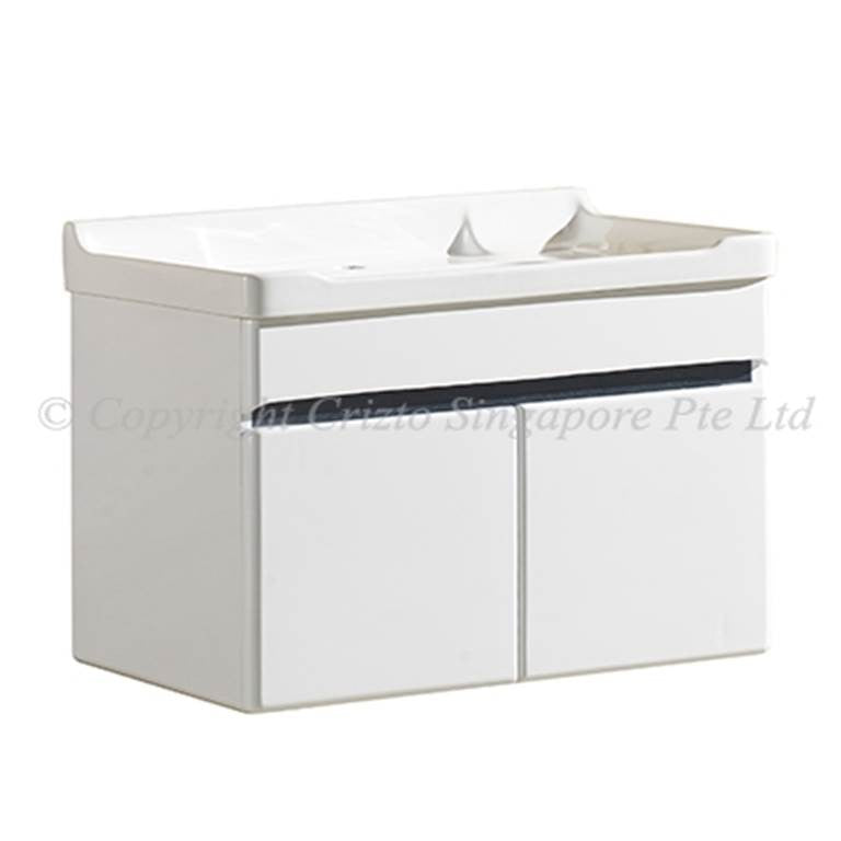 Crizto Basin Cabinet Set CBC-80477-WT (32800) *Contact us for best price - Domaco