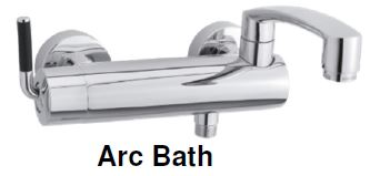 Damixa Arc -Bath & Shower Mixer Tap (52800) MADE IN DENMARK <br>*Contact us for best price - Domaco