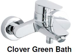 Damixa Clover Green -Bath & Shower Mixer Tap (28800) MADE IN DENMARK <br>*Contact us for best price - Domaco