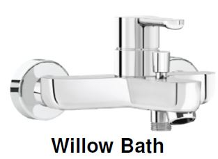 Damixa Willow -Bath & Shower Mixer Tap (27800) MADE IN DENMARK <br>*Contact us for best price - Domaco