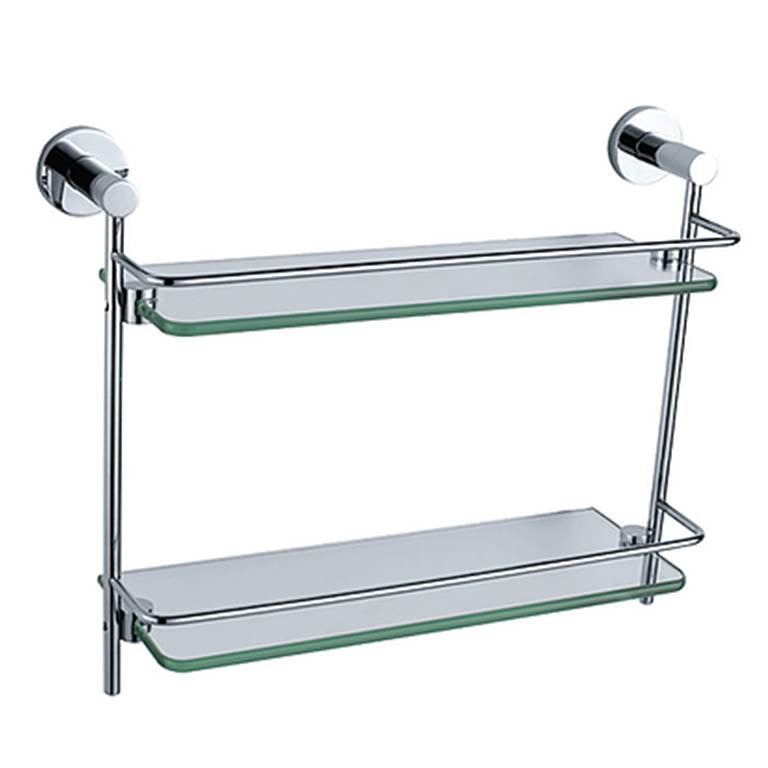 NTL Double Glass Shelf R31010 (6970)<br>*Contact us for best price - Domaco