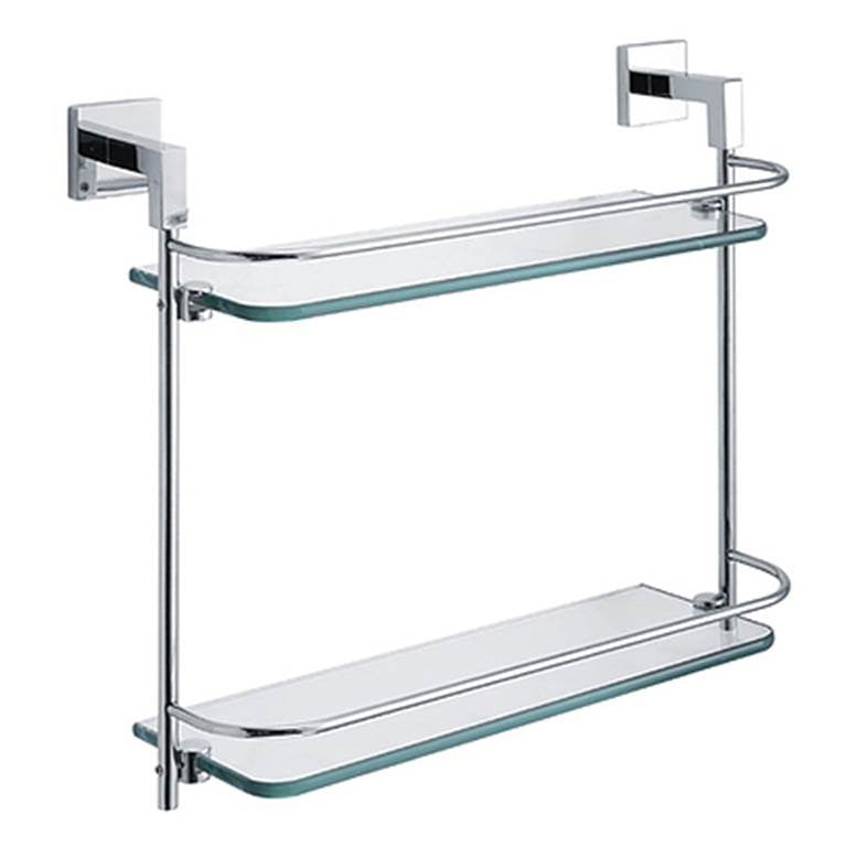NTL Double Glass Shelf S11010 (7980)<br>*Contact us for best price - Domaco