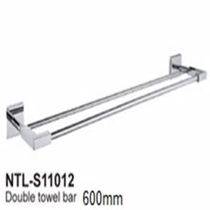 NTL Double Towel Bar S11012 (4720)<br>*Contact us for best price - Domaco
