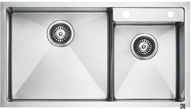 Elkay Double Bowl Series Stainless Steel Kitchen Sink Domaco