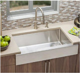 Elkay Crosstown ECTRUF30179R  Stainless Steel Kitchen Sink (*Semi-Recessed Farm Sink) - Domaco