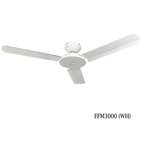 "Fanco FFM3000 48"" Ceiling Fan with 4 speed wall regulator - Domaco"