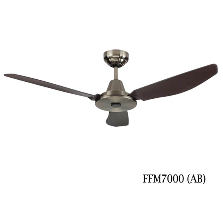 "Fanco FFM7000 52"" Ceiling Fan With 3 Speed Wall Regulator - Domaco"