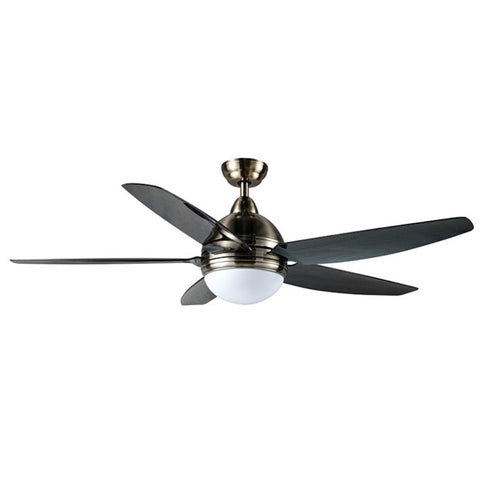 "Samaire Frankfurt SA575 57"" CEILING FAN + REMOTE CONTROL + Light Kit ( E27 Bulb Holder x 2) - Domaco"