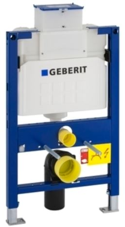 Geberit Duofix 1140mm High WC Frame With Sigma Concealed