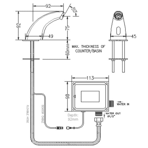 water heater size water supply sizing charts wiring
