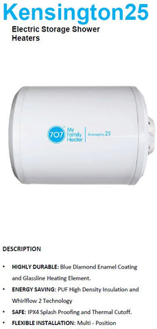 707 Kensington Storage Heater 25L (23800) *Contact us for best price - Domaco