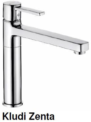 Kludi Zenta Kitchen Sink Mixer Tap (34800)<br>*Contact us for best price - Domaco