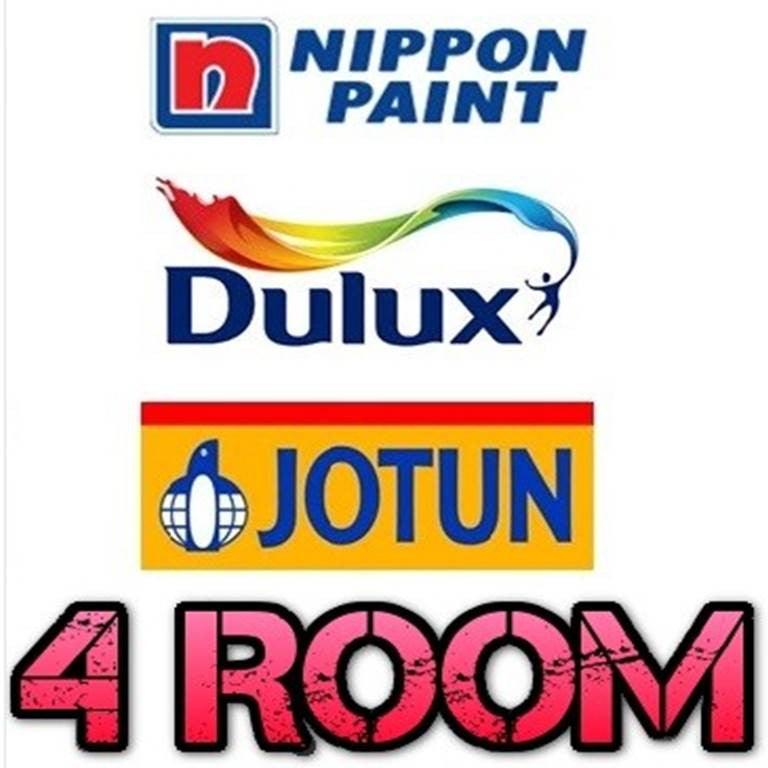 4 Room Standard Painting Service - Domaco