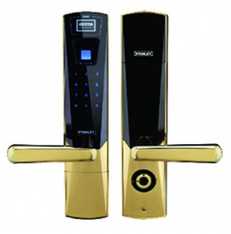 Stanley Digital Door Lock Z100 - Gold - Domaco