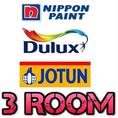 3 Room Standard Painting Service - Domaco