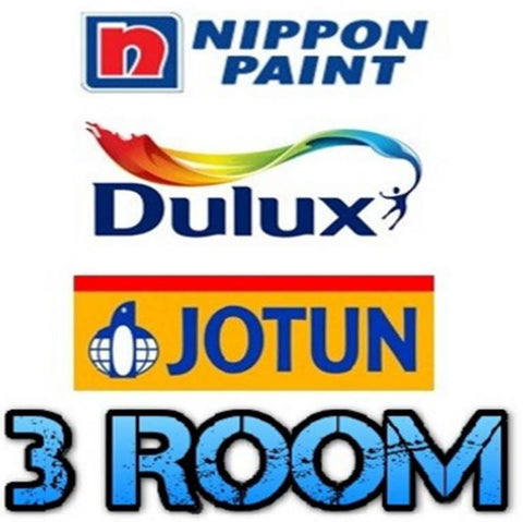 3 Room Economic Painting Service - Domaco