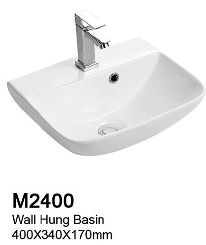 TIARA M2400 BASIN (6800) *Contact us for best price - Domaco