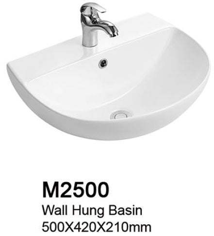TIARA M2500 BASIN (8000) *Contact us for best price - Domaco