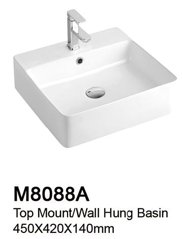 TIARA M8088A BASIN  (11800) *Contact us for best price - Domaco