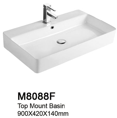 TIARA M8088F BASIN (65800) *Contact us for best price - Domaco