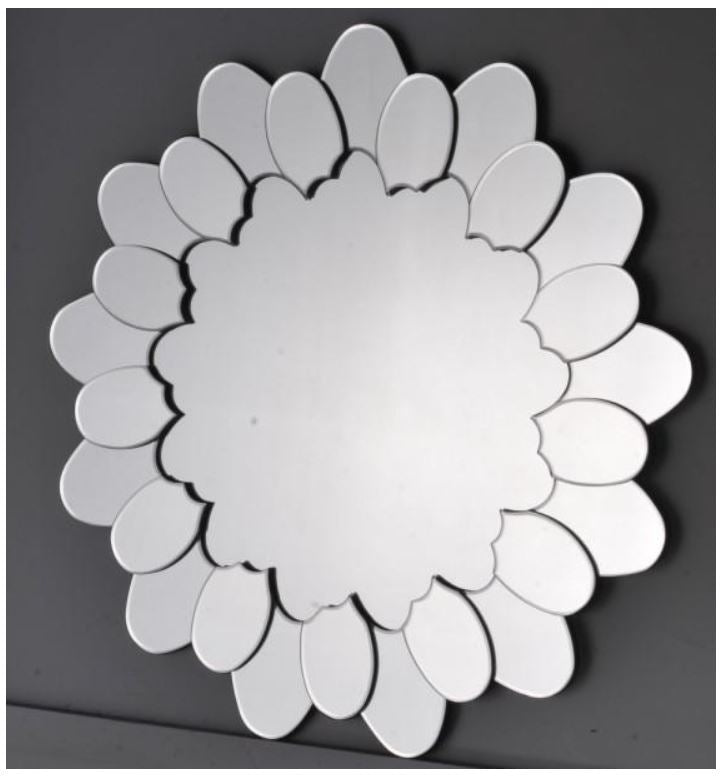 ARINO MA-01 4mm Decor Mirror With 12mm MDF Board - Domaco