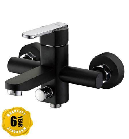 NTL Shower Mixer Tap 2005B or 2005W (Black or White) (14800)<br>*Contact us for best price - Domaco