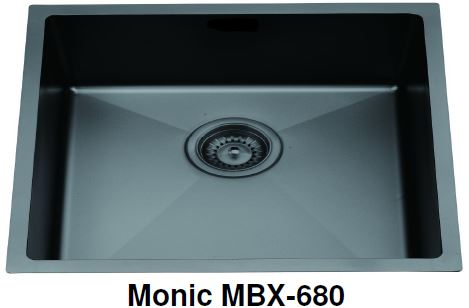 Monic MBX-680 Black Kitchen Sink (31600)<br>*Contact us for best price - Domaco