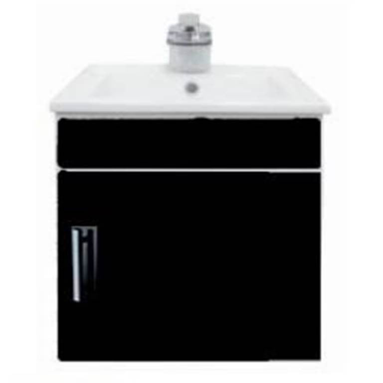 NTL Basin Cabinet Set 34001B (Black) (32800) or 34002W (White) (32800)<br>*Contact us for best price - Domaco