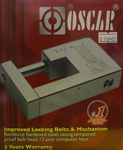 OSCAR SL2008 2 IN 1 MASTER SYSTEM LOCK SET