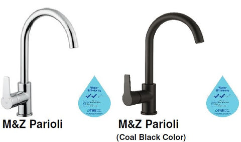 M&Z PARIOLI Sink Mixer with Swivel Spout<br>MADE IN ITALY *Contact us for best price - Domaco
