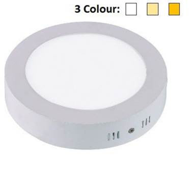LED Ceiling Round 3 Colours 24W - Domaco