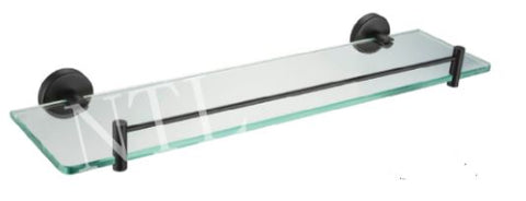 NTL Single Glass Shelf R41009 Black (5680)<br>*Contact us for best price - Domaco
