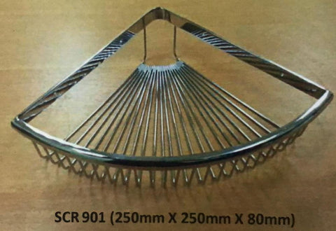 Baron SCR901 Stainless Steel Corner Soap Basket