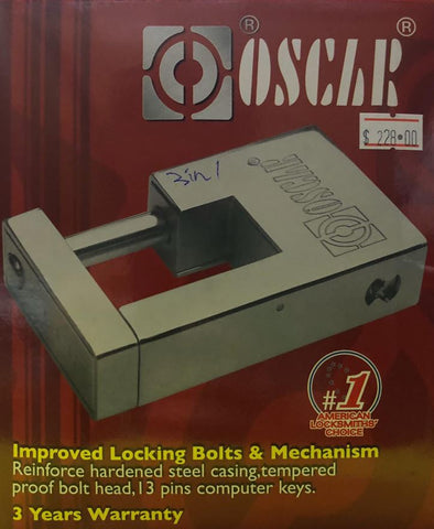 OSCAR SL2008 3 IN 1 MASTER SYSTEM LOCK SET