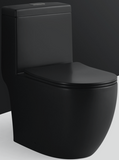Magnum 938 BLACK Turbo Tornado Flushing 1-Piece Toilet Bowl (Geberit Flushing System) domaco.com.sg