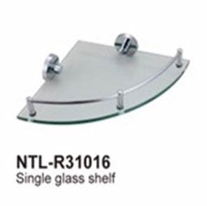NTL Single Corner Glass Shelf R31016 (3380)<br>*Contact us for best price - Domaco