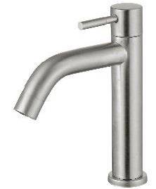 ARINO T-1019SS LEVER HANDLE BASIN PILLAR TAP - Domaco