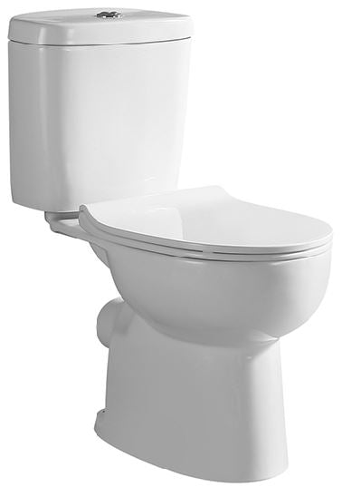 Tiara 218 P-Trap (18800) 2-Piece Toilet Bowl<br>*Contact us for best price - Domaco