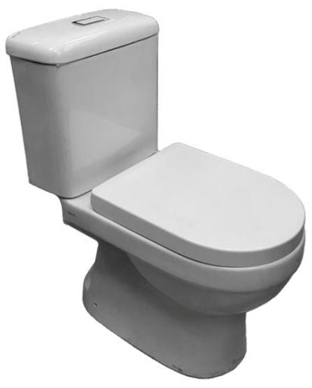 Baron 2-Piece Toilet Bowl V-800 With Rect Flushing Button (24000)<br>*Contact us for best price - Domaco