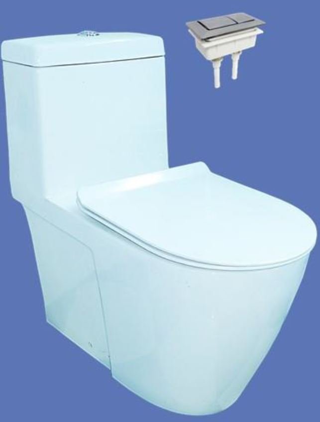 Velin 1-Piece Toilet Bowl NEW A3392 (Geberit Flushing System) (28800)<br>*Contact us for best price - Domaco