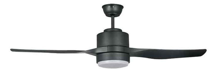"FANCO E-SPIN 50"" CEILING FAN (2 ABS Blades)  + REMOTE CONTROL + LED RGB 18W - Domaco"