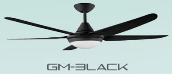 DECCO BRISBANE 52 INCH CEILING FAN + REMOTE CONTROL + LED RGB 18W (25800)<br>*Contact us for best price - Domaco