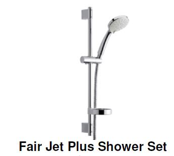 Damixa Fair Jet Plus Shower Set (7800)<br>*Contact us for best price - Domaco