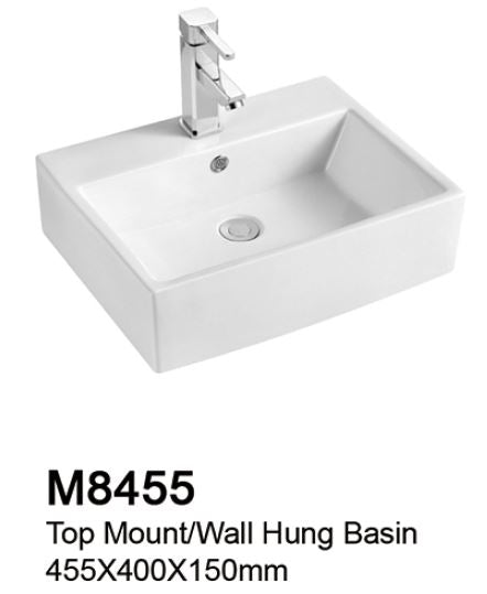 TIARA M8455 BASIN (7800) *Contact us for best price - Domaco