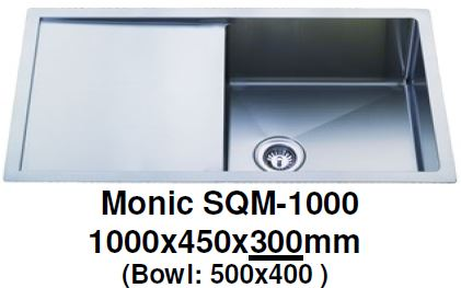 Monic SQM-1000 Kitchen Sink - Domaco