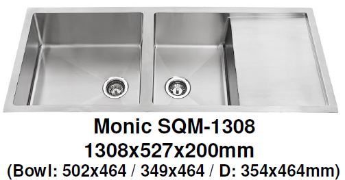 Monic SQM-1308 Kitchen Sink - Domaco