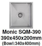 Monic SQM-390 Kitchen Sink - Domaco