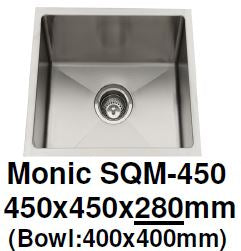 Monic SQM-450 Kitchen Sink - Domaco